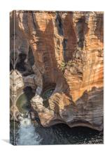 Bourkes Potholes in South Africa, Canvas Print