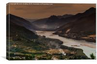 First Bend of the Yangtze River, Canvas Print