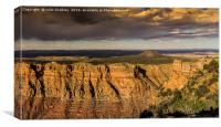 Grand Canyon at Early Sunset, Canvas Print