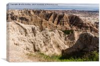 South Dakota Badlands, Canvas Print