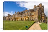 Minterne House and Gardens in Minterne Magna, Canvas Print