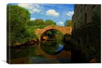 Blackpool Bridge #1, Canvas Print