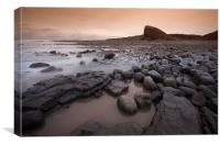 Nash Point South Wales, Canvas Print