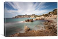 Camp de Mar, Canvas Print