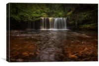 waterfalls of South Wales, Canvas Print
