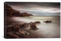 Bracelet bay rocks, Canvas Print
