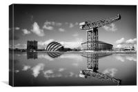 Clyde Reflection, Canvas Print