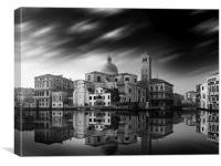 Venice Old Town Italy, Canvas Print