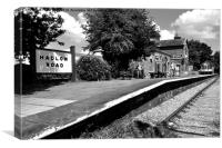 Hadlow Road Station, Canvas Print