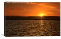 West Kirby (Wirral) Sunset, Canvas Print