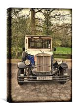 Asquith – replica Vintage Car., Canvas Print