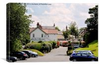 The Fox & Hounds, Barnston, Wirral, Canvas Print