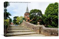 The Iconic Port Sunlight Lyceum, Canvas Print