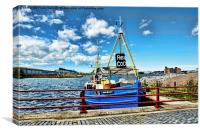 Manx Beauty doing business, Canvas Print