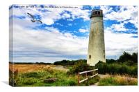Wirral's Leasowe Lighthouse, Canvas Print