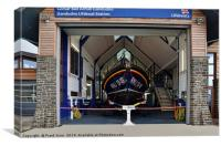 The lifeboat, 'RNLB William F Yates' , Canvas Print