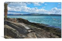 Looking across from Aberdovey, Canvas Print