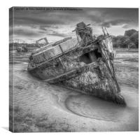 Abandon ship, Canvas Print