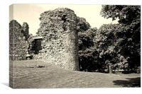 Old Inverlochy Castle, Canvas Print