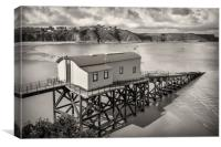 Lifeboat Station, Canvas Print