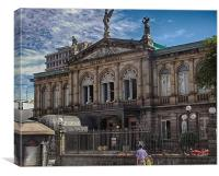 National Theater Of Costa Rica, Canvas Print