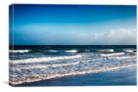 Playa del Ingles, Canvas Print