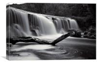 Wye Valley Waterfall, Canvas Print