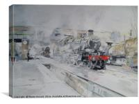 Great Central Steam, Canvas Print