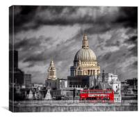 London Icons, Canvas Print