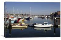 JST2981 The Inner Harbour, Canvas Print