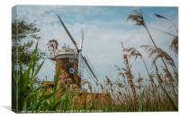 Cley Windmill Cley next the Sea Norfolk England , Canvas Print