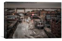 Old River Hull - SinCity Series, Canvas Print