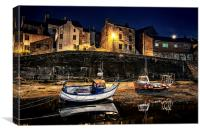 Waiting for the tide, Canvas Print