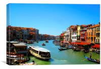 A View of Venice, Canvas Print