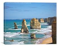 The 12 Apostles a second look, Canvas Print
