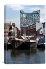 Gas Street Basin, Canvas Print