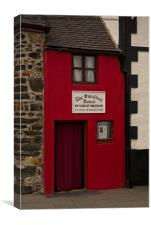 Smallest House In Great Britain, Canvas Print