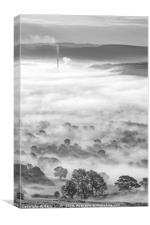 Out of the Mist., Canvas Print