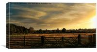 the farmland, Canvas Print