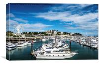 Luxury in the Marina, Canvas Print