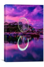 Riviera Big Wheel., Canvas Print