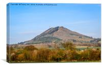 The Wrekin, Canvas Print