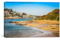 Sunny Cove Beach, Canvas Print
