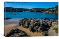 Salcombe Estuary. , Canvas Print