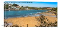 Salcombe Estuary From Mill Bay. , Canvas Print