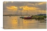 Maldon Sunrise, Canvas Print