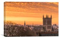 Cambridge at Sunrise, Canvas Print