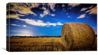Night Time Shine In Beaumont , Canvas Print