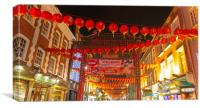 Chinese New Year celebrations, Canvas Print