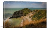 The Jurassic Coast , Canvas Print